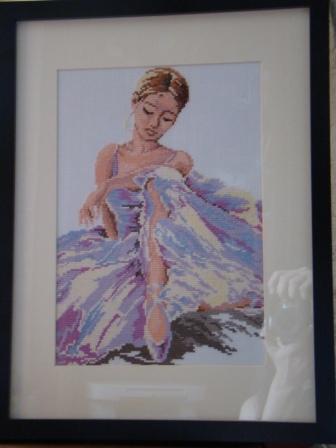 балерины на картинах